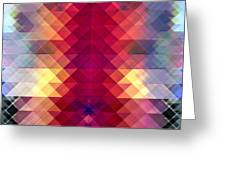 Abstract Geometric Spectrum Greeting Card