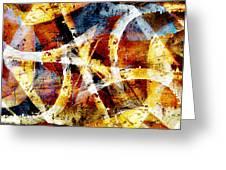 Abstract Graffiti 2 Greeting Card