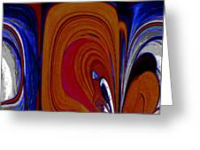 Abstract I Greeting Card
