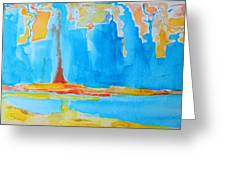Abstract II Greeting Card by Patricia Awapara