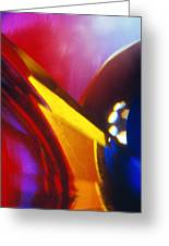 Abstract In Glass Greeting Card
