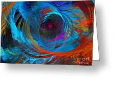 Abstract Jet Propeller Greeting Card