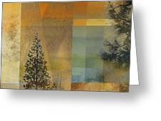 Abstract Landscape One Greeting Card