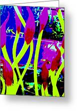 Abstract Lavender  Greeting Card
