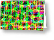 Abstract Lines 16 Greeting Card