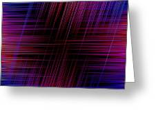 Abstract Lines 3 Greeting Card
