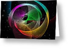 Abstract  Greeting Card by Mark Ashkenazi