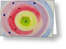 Abstract Matter Greeting Card