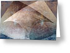 Abstract Metal Greeting Card