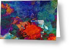 Abstract Mm No. 105 Greeting Card