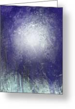 Abstract  Moonlight Greeting Card