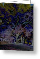 Abstract Of A Tree Greeting Card