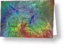 Abstract Of Dreams Greeting Card