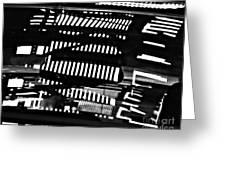 Abstract Reflection 3 Greeting Card