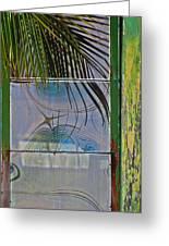 Abstract Reflection Greeting Card