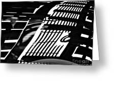 Abstract Reflection Greeting Card by Sarah Loft