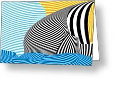 Abstract - Sailing Greeting Card