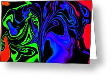 Abstract Series 5 Number 2 Greeting Card