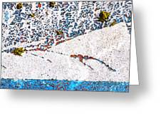 Abstract Snow Storm Greeting Card