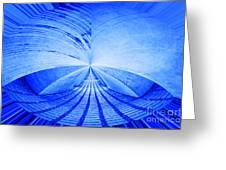 Abstract Structure Greeting Card