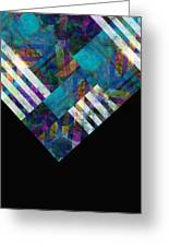 Abstract Study Twelve Greeting Card