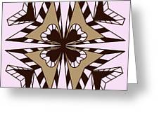 Abstract Symmetry-3 Greeting Card