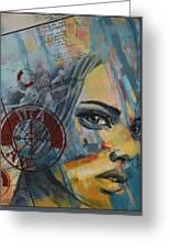 Abstract Tarot Art 022a Greeting Card