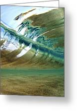 Abstract Underwater 2 Greeting Card