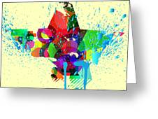 Abstract Vector Background Greeting Card