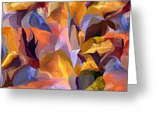 Abstract Vignettes Greeting Card