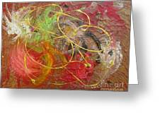 Abstract Vii Greeting Card