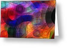 Abstract Watercolor Greeting Card