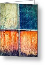 Abstract Window Greeting Card