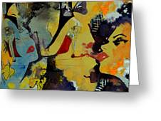 Abstract Women 010 Greeting Card