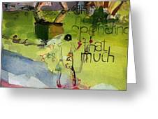 Abstract Women 023 Greeting Card
