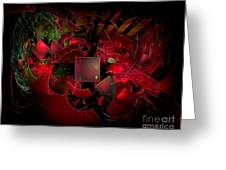 Abstractiom 0577 Marucii Greeting Card