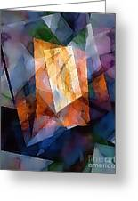 Abstraction 0257 Marucii Greeting Card
