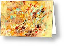 Abstraction 0263 Marucii Greeting Card
