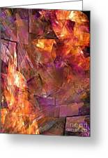 Abstraction  0273 Marucii Greeting Card