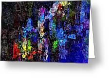 Abstraction 0375 - Marucii Greeting Card
