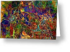 Abstraction 0380 Marucii Greeting Card