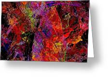 Abstraction 0383 - Marucii Greeting Card