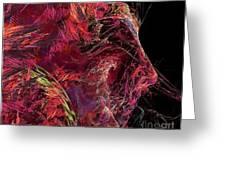 Abstraction 0387 Marucii Greeting Card