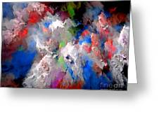 Abstraction 0392 Marucii Greeting Card
