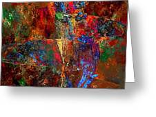 Abstraction 0393 Marucii Greeting Card