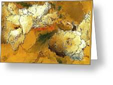 Abstraction 0434 Marucii Greeting Card