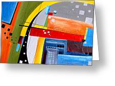 Abstraction 0468 Marucii Greeting Card