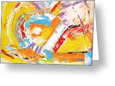 Abstraction 0473 Marucii Greeting Card
