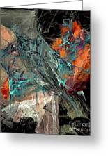 Abstraction 0490 Marucii Greeting Card