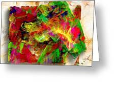 Abstraction 0492 Marucii Greeting Card